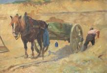 Zandafgraving