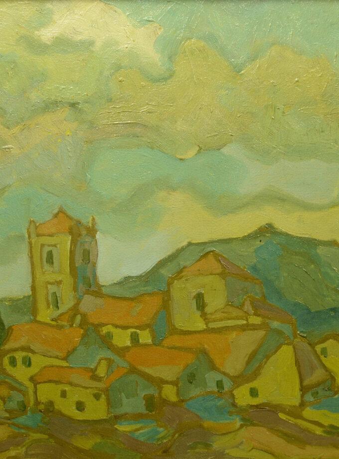 dorp in de bergen Bergense school