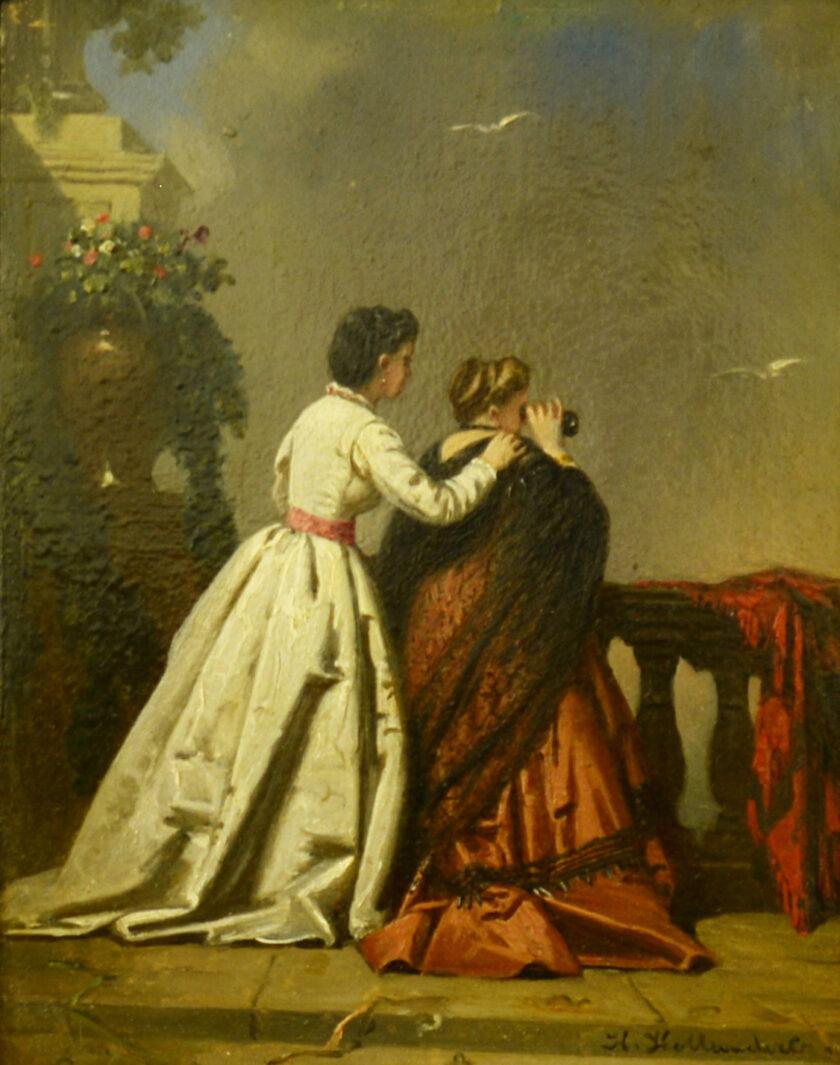 moeder en dochter Hollander, Hendrik