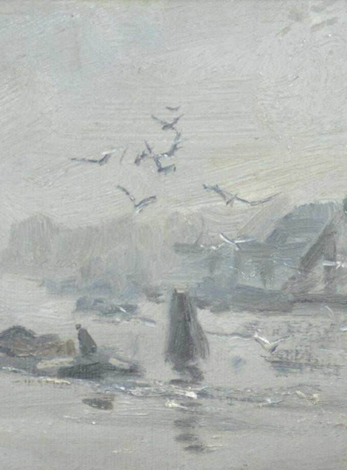 vaart met boot w.g.f. jansen, Willem Jansen