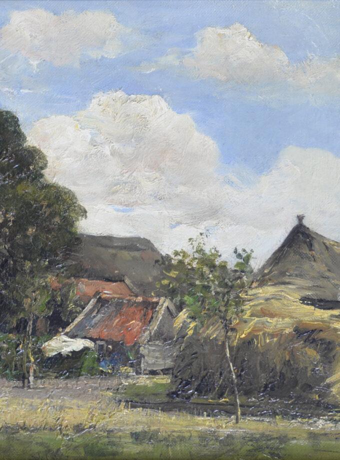 Boerderij met schuren en hooiberg Hobbe Smith