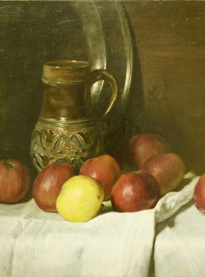 stilleven met appels Hollandse school
