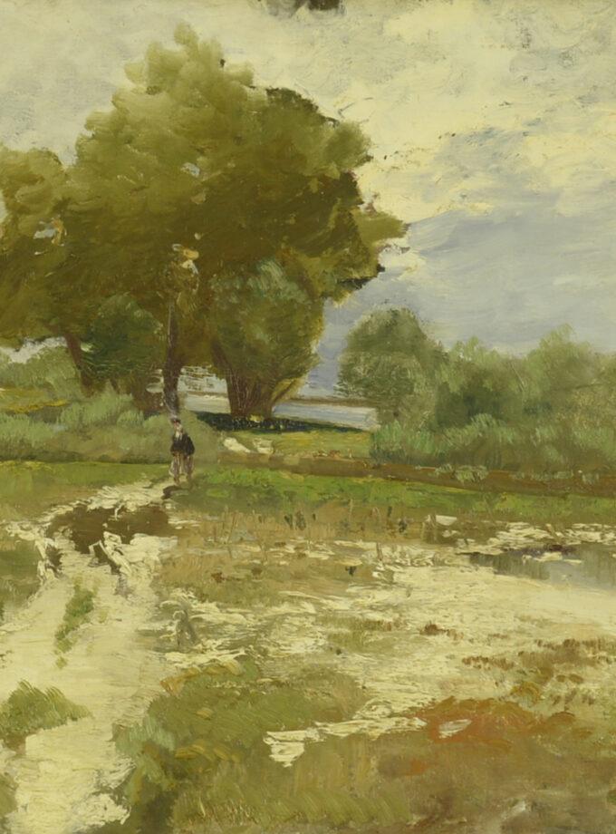 An der Donau Hongaarse schilder