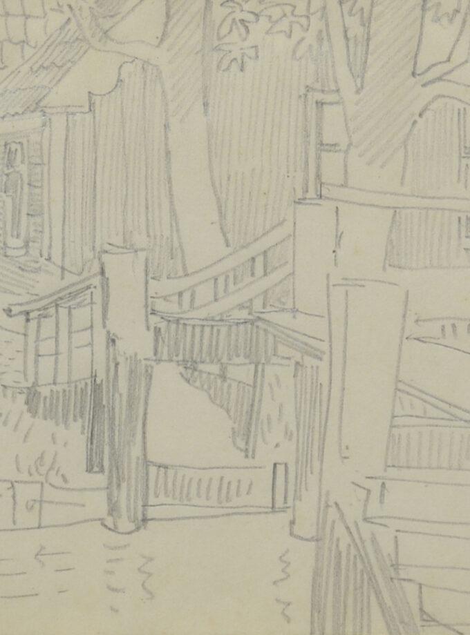 tekening Noord Holland